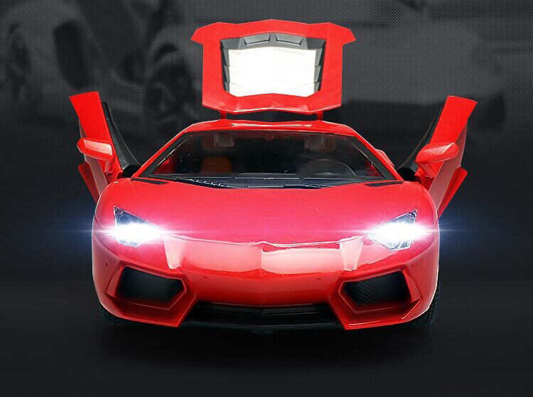 Remote Control Car, Electric-glass in Car Doors, 1:16 World Famous Car Model, Simulation of High Quality for Children' Gifts(China (Mainland))