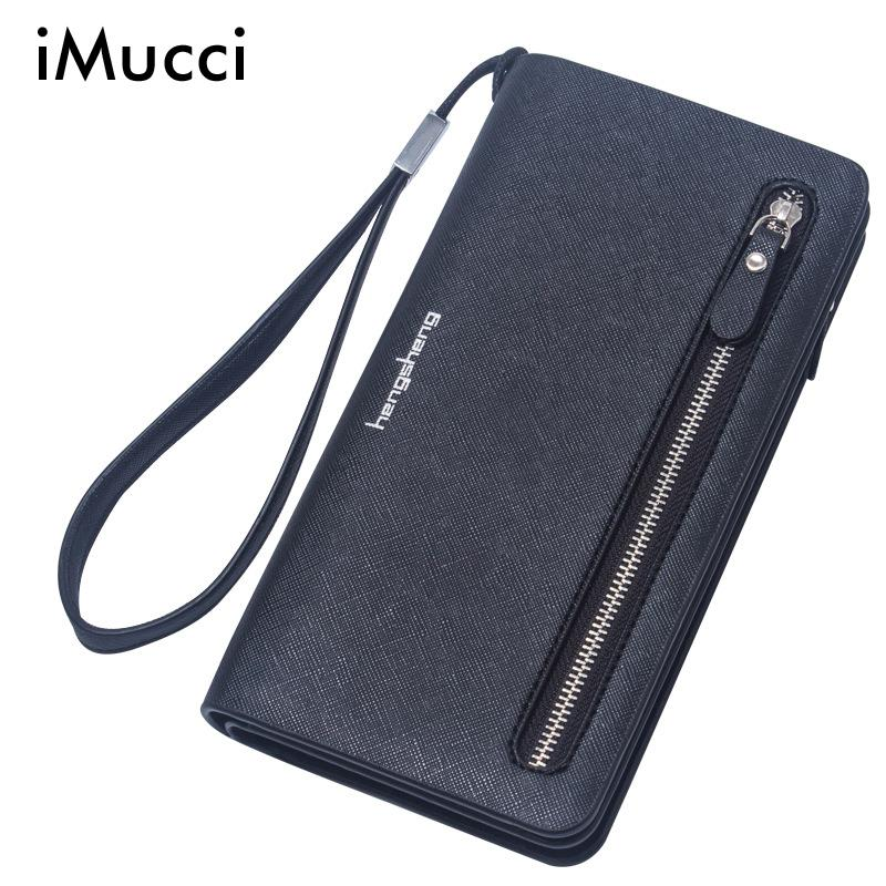 Fashion Candy Colors Long Wallet With Zipper For Women Purse Girls Simple PU Leather Zipper Wallet(China (Mainland))