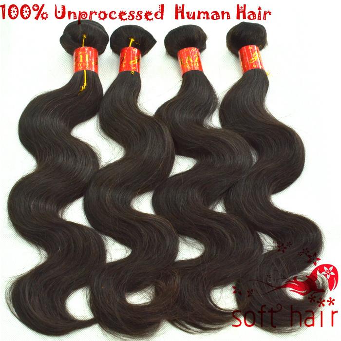 New Shop Lose money big sale aliexpress hair wet and wavy human hair extensions brazilian body wave 4 bundles(China (Mainland))