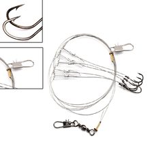 New top sale Fishing Wire String Hooks Lure Baits Hooks Hook Fishing Tackle Outdoor Sports retail/wholesale good quality