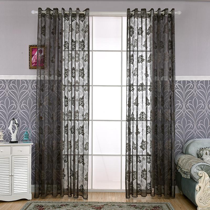 grey curtains buy cheap sheer grey curtains lots from china sheer grey