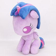 23-27 см My Little Pony Toys friendness is Magic Twilight Sparkle принцесса Луна Cadance принцесса Celestia плюшевые мягкие куклы(China)