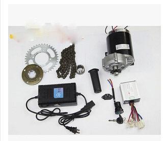 DC 600W 36V brushed gear decelerating motor electric bicycle kit,light electric tricycle kit,electric bike conversion kit(China (Mainland))