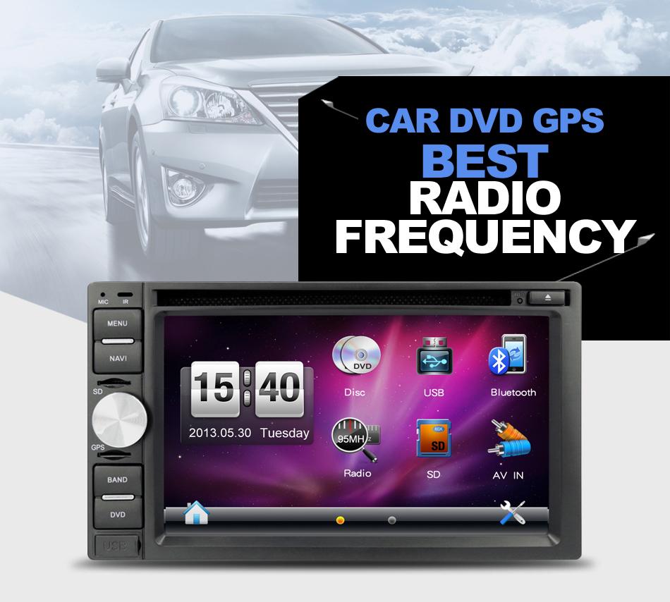 Car Electronic Car Radio Car DVD dvd automotivo Car Console GPS Navigation IN DASH 2 DIN Auto Stereo FM Reciever USB/SD(China (Mainland))
