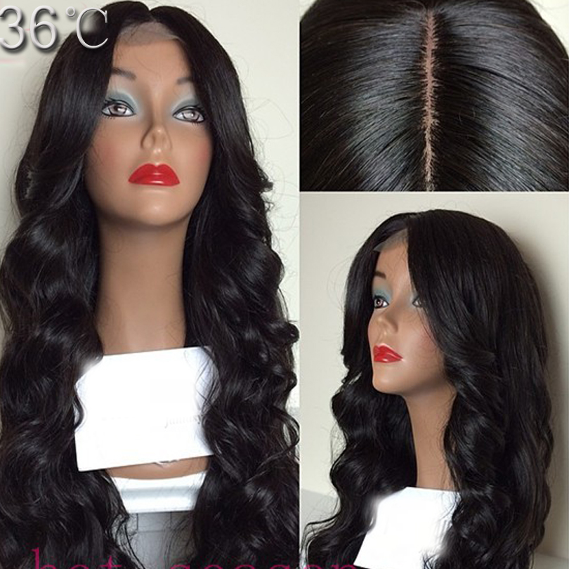 Silk Top Glueless Full Lace Wigs Unprocessed Silk Top Lace Front Wigs With Natural Hairline Human Hair Full Lace Wig Silk Base <br><br>Aliexpress