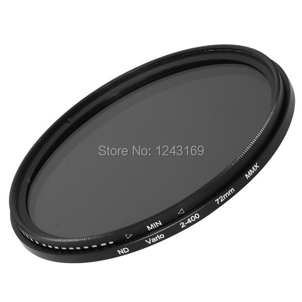 Slim 72 mm Variable Adjustable Neutral Density Fader ND Filter ND2  to ND400 LF27-SZ<br><br>Aliexpress