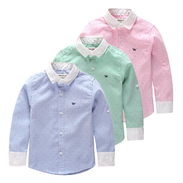2015 весной новый Европейский и Американский детская одежда с длинными рукавами рубашки шить маленькие мальчики рубашка
