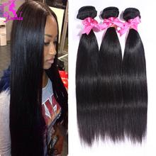 7a Unprocessed Malaysian Virgin Hair Malaysian Straight Hair 2pcs Vip Beauty Hair Weave Straight Human Hair Bundles Light Brown