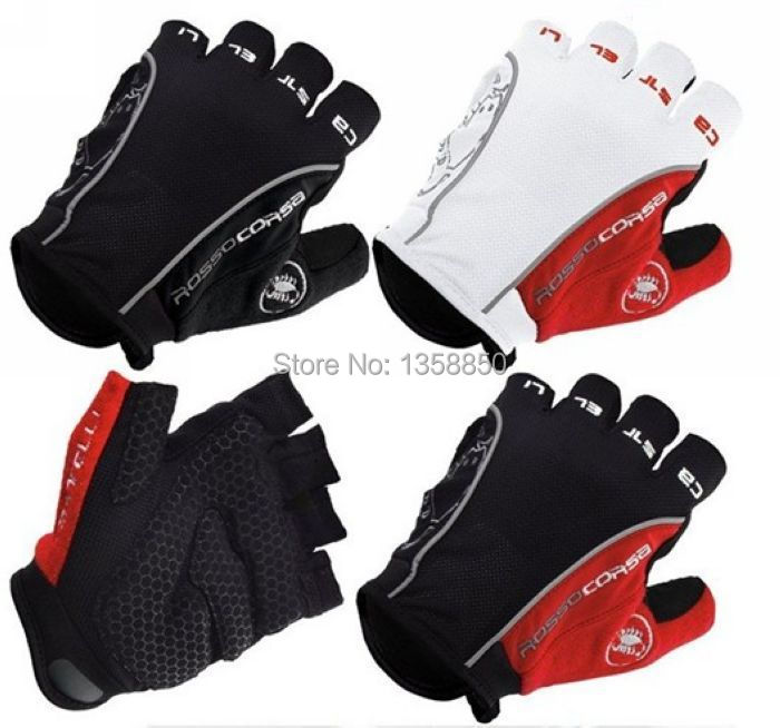 New Motorbike Racing Riding Cycling Fingerless MTB ATV Moto Gel Breathable Motorcycle Bike Gloves Mountain Bicycle Sport Mittens(China (Mainland))