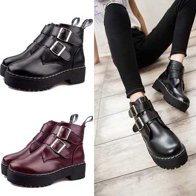 Punk Rock Ankle Boots Ankle Boots Punk Rock