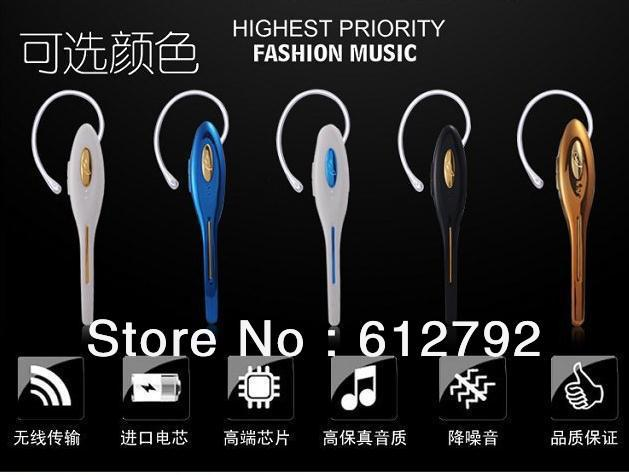 4.0 Bluetooth Stereo Earphone for iPhone 5/4s/4, Any Cell Phone Bluetooth Headphone/Headset(China (Mainland))