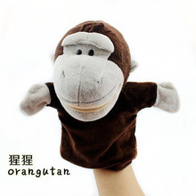 Cartoon Children Animal Finger Hand Puppet Toys Doll Baby Cloth Educational Toy Story Dog Monkey Lion Totoro sheep Muppet  L592(China (Mainland))
