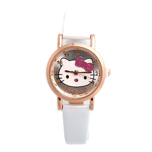 Top Selling Lovely Gogoey Hello Kitty Watch Children Girl Women Fashion Dress Quartz Wristwatches GO103(China (Mainland))