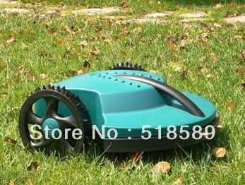 The Cheapest brush cutter/ Robot Garden Lawn Mower+Remote Controller+Lead-acid Battery+Auto Reacharged +Free Shipping