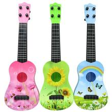 Children can play musical instruments guitar mini guitar simulation small ukulele educational toys(China (Mainland))