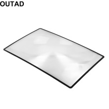 Buy 2017 New 3X Convinient PVC Magnifier Sheet 180X120mm Book Page Magnifying Book Page Reading Glass Lens Magnification for $1.06 in AliExpress store