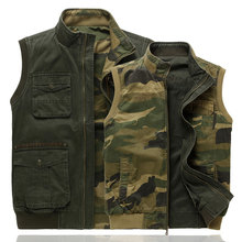 New Arrival Multi-pockets Outdoor Vest Men Professional Photography Cameraman Mesh Vest for Hunting Director Reporter Vests(China (Mainland))
