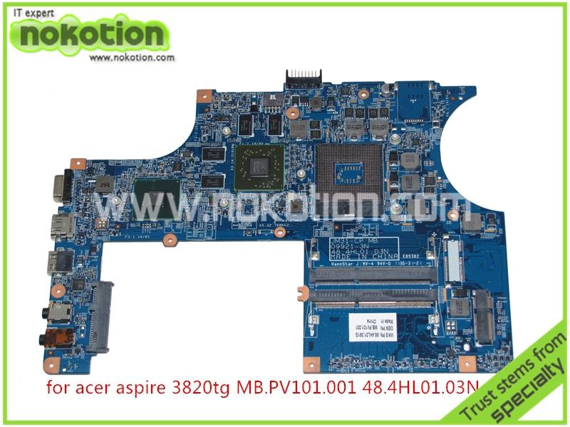 JM31 CP MB 48 4HL01 03N 55 4HL01 361G MB PV101 001 Laptop font b Motherboard