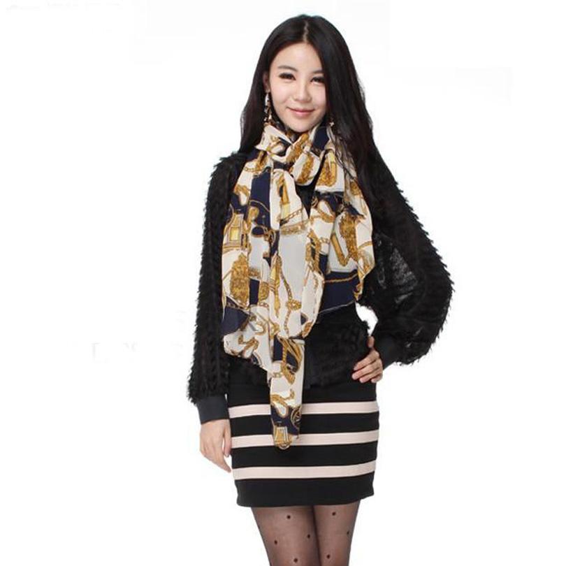 Fashion women scarves Europe summer new female scarves shawls chiffon silk free shipping(China (Mainland))
