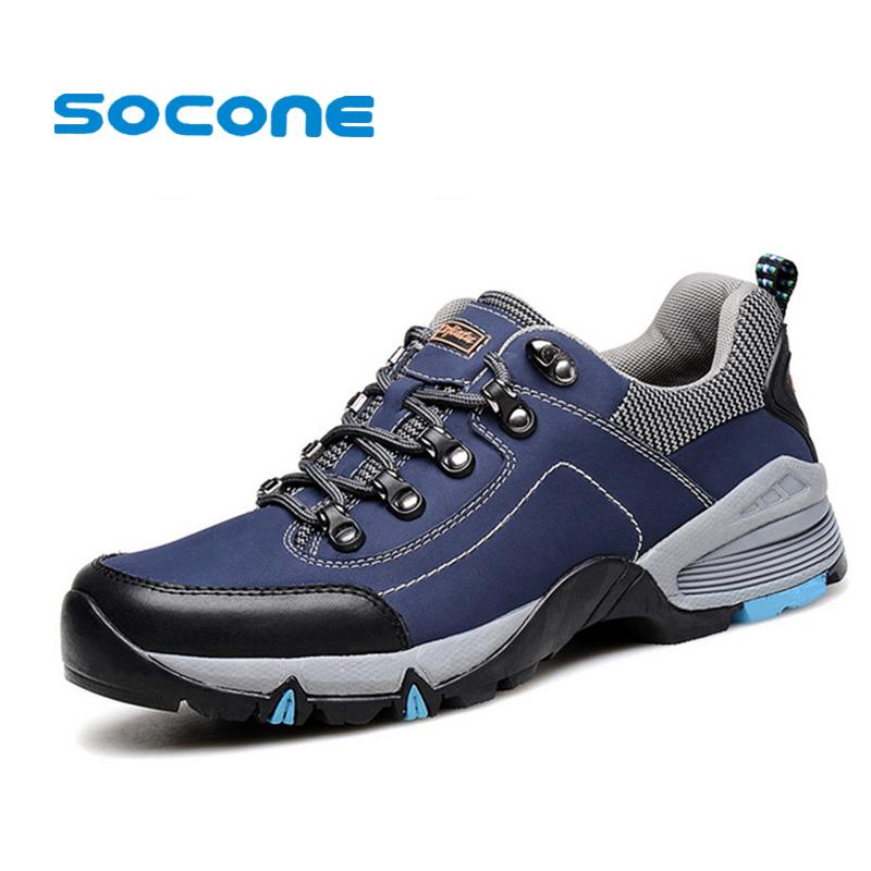 11.11 Waterproof Hiking Shoes for Man New Winter Outdoor Sport Shoes Men Leather Walking Shoes Trekking zapatillas hombre