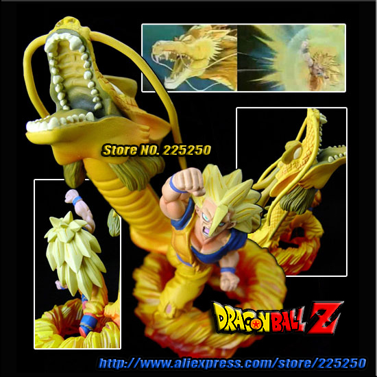 Japan Anime DRAGONBALL Dragon Ball Z/Kai Genuine Original MegaHouse Capsule/Gashapon NEO Toys Figures P 15 Goku Super-Saiyan 3(China (Mainland))