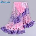 Women Design Printed Soft Silk Chiffon Shawl Wrap Wraps Scarf Long Scarves Amazing