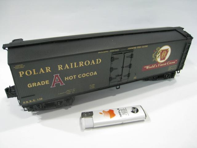 American LIONEL O ratio 1/48 model Railroad train car Hot Cocoa car(China (Mainland))