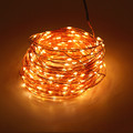 High Quanlity 12V 30M 98 4ft 300 Leds Copper Wire LED String Light Starry Lights WarmWhite