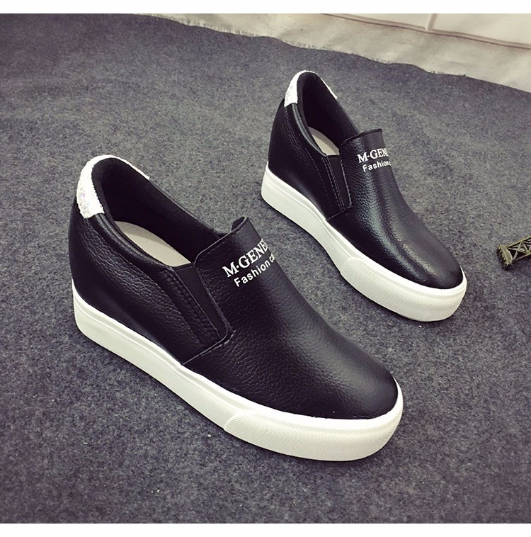 Free shipping within the higher spring and the new super-low-cut leather casual shoes a pedal shoes Loafers