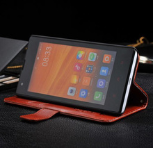 Retro Wallet Style Flip Leather Case with Stand Function for Xiaomi Hongmi Red Rice MIUI Millet