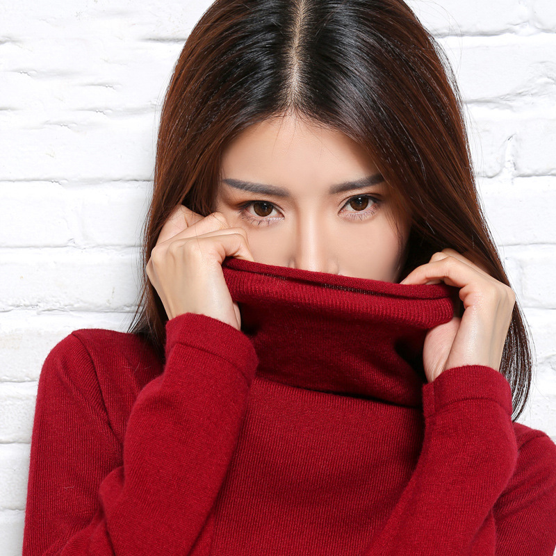 cashmere women sweater and pullover fashion sexy sweaters Turtleneck pullovers wool Tops full sleeve pullover Hot sale clothes(China (Mainland))