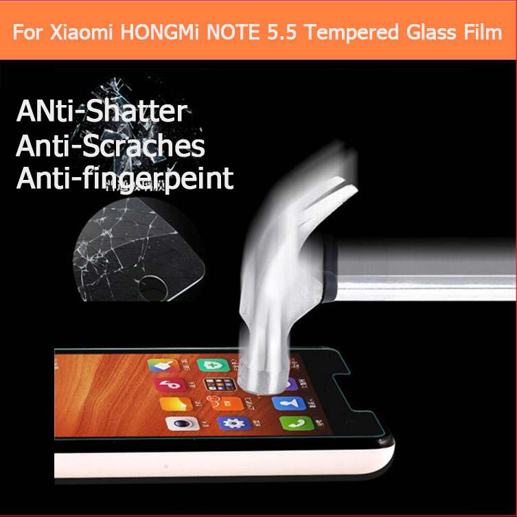 Ultra thin 0.33mm 2.5D Premium Tempered Glass film Xiaomi xiao mi red rice hongmi 4.7 inch Anti-shatter Screen Protector - QCC TOP.1 store