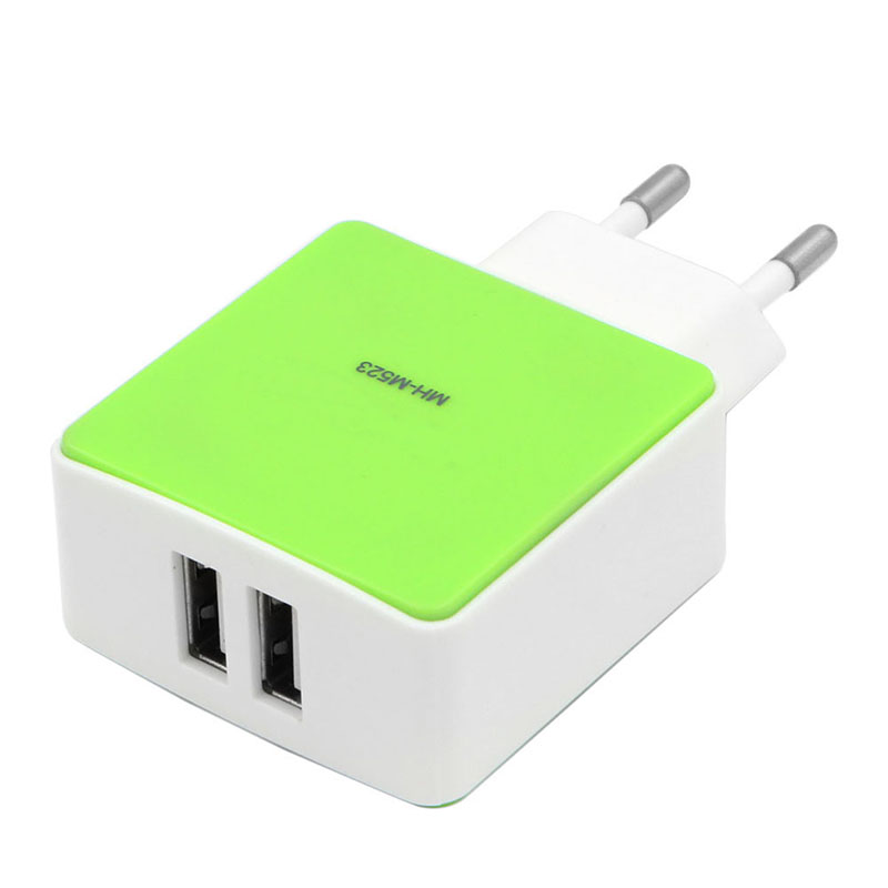 EU 3 Ports Fast charging USB Car DC 5V 1A/2.1A Charger For Iphone(China (Mainland))