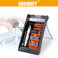 JAKEMY 38 in 1 Aluminium Alloy Screwdriver Set Bits Torx Hex Parafusadeira Repair Tools For Cell