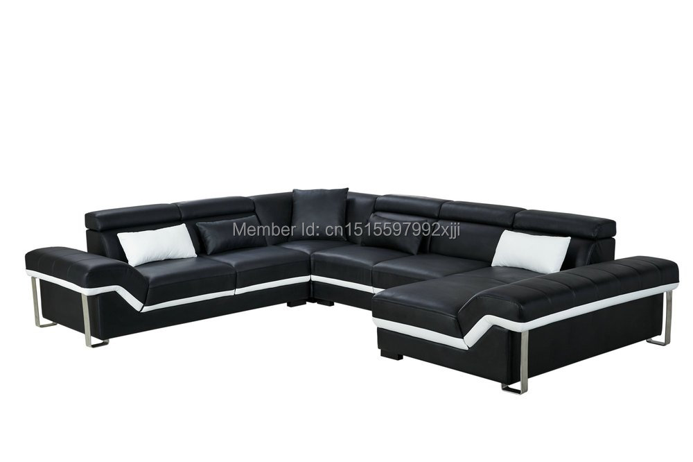 US $1650.0 |Armchair Beanbag Sofas For Living Room Direct Factory Modern  Design Leather Sofa Home Furniture Set With Steel Leg Sectional-in Living  ...