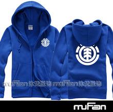 Men/Women Brand Streetswear Hip Hop Skateboard Hoodies Sweatshirt Element personalized Sports Coat Spring/Autumn Cotton Hoodie(China (Mainland))