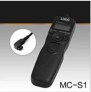 MC-S1 Timer Shutter Release Cord time remote control for FOR Sony a77 a65 a37 a57 a99 a900 a580 a850 nex7(China (Mainland))