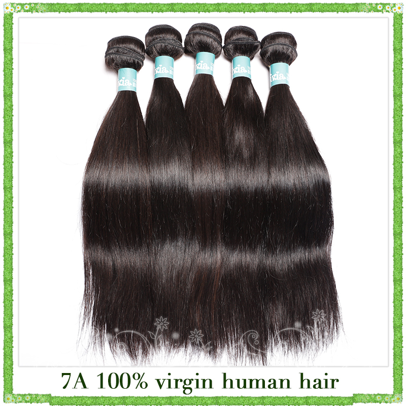 Cheap Brazilian virgin hair straight weave bundles 3pcs lot human hair weave unprocessed virgin brazilian hair from 8 - 30inch(China (Mainland))