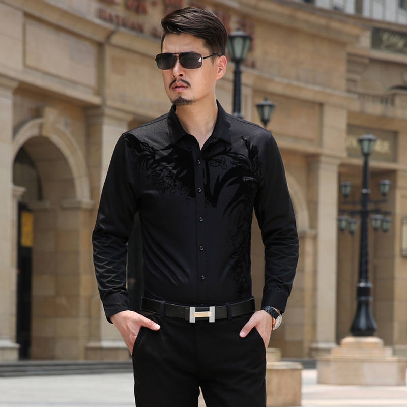 Online Get Cheap Men's Dress Shirt Fitted -Aliexpress.com ...