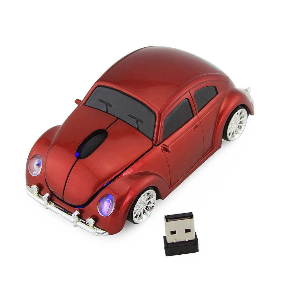 3D Hot Wireless Mouse Sports Car Shaped 2.4Ghz Optical Mouse Mice Car Mause 1600DPI For PC Laptop Computer(China (Mainland))