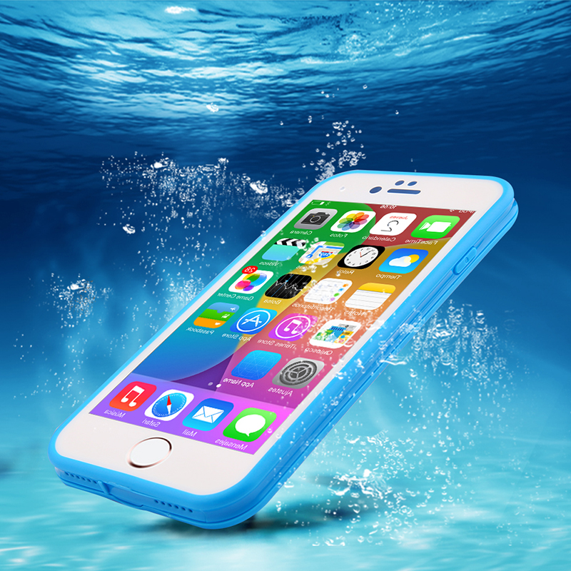 Ranipobo Waterproof Case For iPhone 5 5S SE 6 6S 6S plus Fashion Ultra Slim Shockproof Hybrid Phone Cases Back Cover For i6s(China (Mainland))