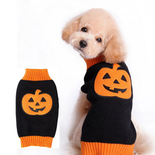 Buy Pet Dog Clothes Dogs Clothing Halloween Christmas Dot Costume Pumpkin Cosplay Jacket Coat Apparel Small Pet Warm Sweater for $20.48 in AliExpress store