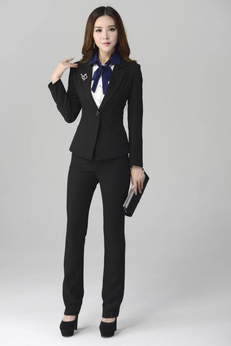 Elegant Simple Business Pant Suits For Women  WardrobeLookscom