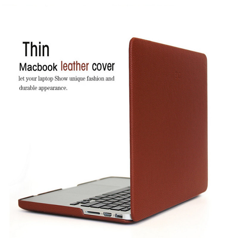 font b Laptop b font case ZVE retro leather Cover Shell For font b Apple
