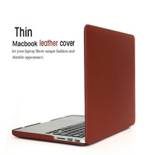 Laptop case ZVE retro leather Cover Shell For Apple Macbook Air 11″ Pro 13 12 15 Retina sleeve notbook Hard Case For Mac book