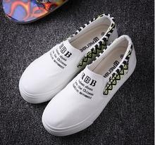 Female summer JK canvas shoes sneakers preppy chic Harajuku lolita cotton made punk rock light platform