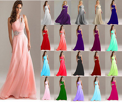 2015 fashion single shoulder strap beaded pink chiffon A-line bridesmaid dress prom party formal standard size free shipping(China (Mainland))