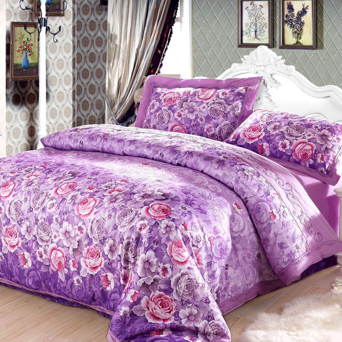 Online kopen Wholesale active printing bedding bedspreads uit ...