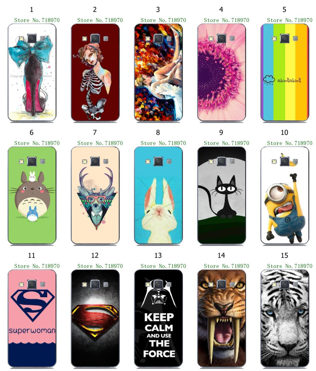 2015 HOT 20 designs luxury fashion patinted hybrid protective white hard cases Samsung Galaxy A3 - allmobilecase store