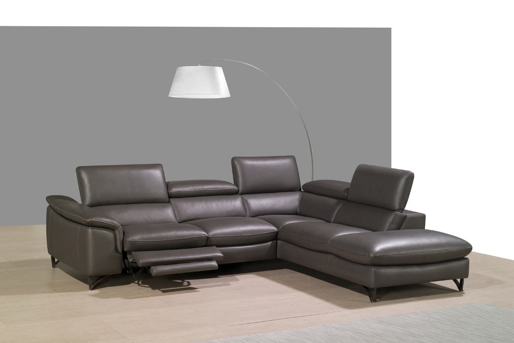 New Design L Shape Corner Living Room Sofas With Top